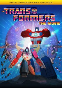 Transformers: The Movie box art