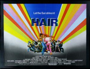 Hair movie poster